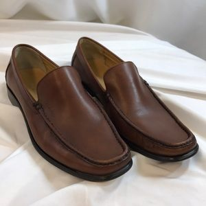 """Calvin Klein """"Neil"""" Leather Loafers Shoes"""